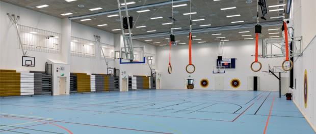Huhtasuon koulukeskus, Jyväskylä 2015, liikuntasali