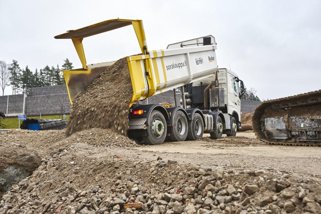 Ruduksen kehittämää Betoroc-betonimursketta on toimitettu jo yli viisi miljoonaa tonnia eri infrarakentamisen työmaille. Tällä hetkellä yksi suurimmista on Kreate Oy:n urakoima Kehä I Kivikontien toinen rakennusvaihe. Sinne Betrocia toimitetaan kaikkiaan noin sata tuhatta tonnia.