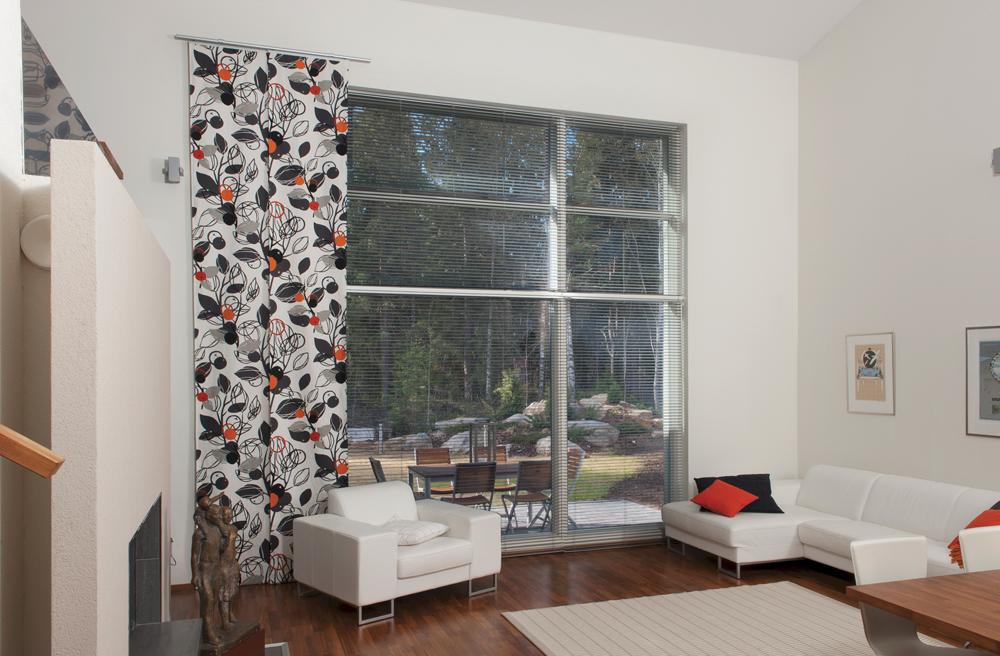 Kiinteitä ikkunoita suositaan kohteissa, joihin halutaan suurikokoisia maisemaikkunoita. Pihlan uuden kiinteän ikkunan tuotekehityksessä on kiinnitetty erityisesti huomiota suurten ikkunoiden asennuksen ja huoltamisen sujuvuuteen.