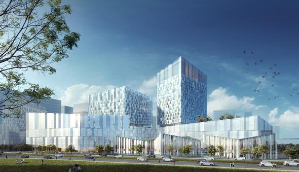 PES Arkkitehdit voitti arkkitehtikilpailun, Nanjingin 120 000 neliömetrin rakennushankkeesta. Kohde on 3,5 kertaa Sanomatalon suuruinen.