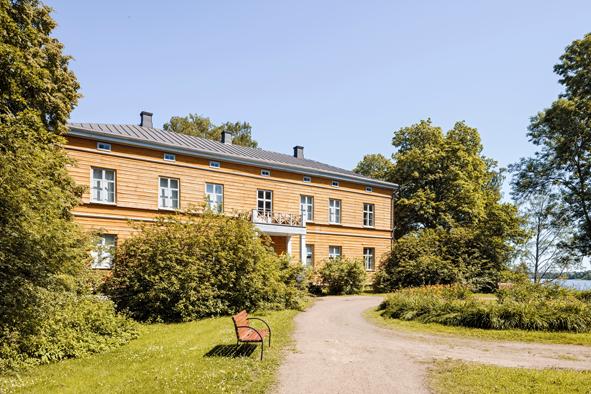 Anjalan kartano - Kuva: Tuomas Uusheimo