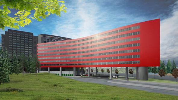 Flamingon suunniteltu hotellilaajennus. Kuva: Haroma & Partners