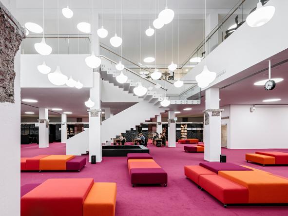 Harald Herlin -oppimiskeskus, Makerspace-tila. Kuva: Aalto-yliopisto/Tuomas Uusheimo