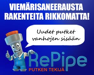 Repipe - Viemärisaneerausta rakenteita rikkomatta