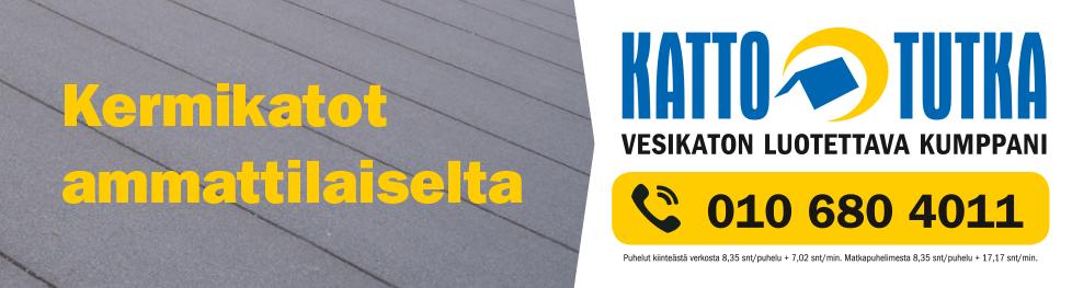 Kermikatot ammattilaiselta - Kattotutka - puh. 0106804011