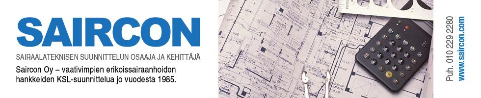 Saircon - Sairaalatekniset suunnittelun osaaja ja kehittäjä