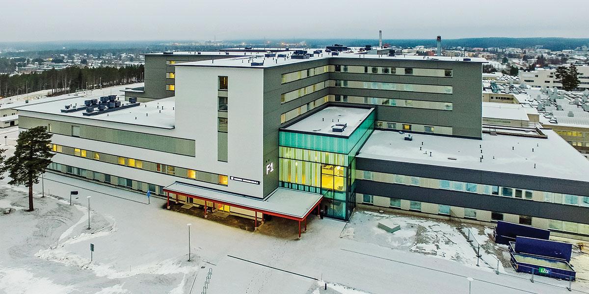 Kainuun uusi älykkäiden ratkaisujen sairaala
