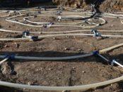 Arctic village- lämpö varastoidaan maaperään