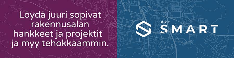 Tutustu Suomen rakennushankkeisiin RPT SMART