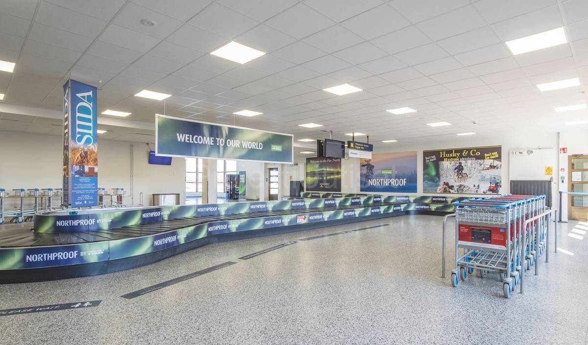 suomen lentoasemien matkustajamäärät